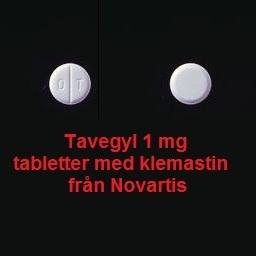 Klemastin tabletter